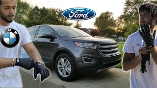 Crazy BMW Drivers Drive A Ford Edge