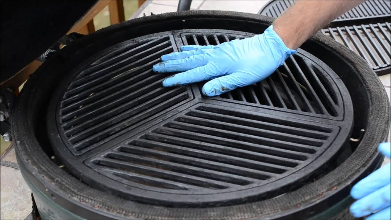 how to start a kamado grill