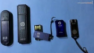 How to recover and restore lost data from HP USB flash drive