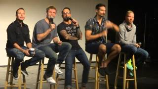 q group b bsb movie backstreet boys cruise 2014