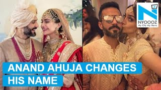Anand Ahuja changes his name; Twitter says Sonam is lucky