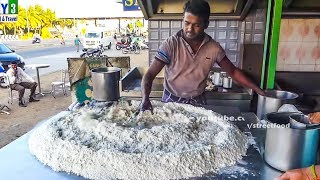 Multi Layered Indian Flat Bread Making for 500 People - Street Food
