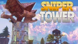 SNIPER TOWER BUILD (Fortnite Battle Royale)