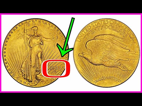 ILLEGAL 1933 GOLD COIN SOLD FOR 7.6 MILLION! RARE COINS WORTH MONEY TAKEN BY SECRET SERVICE