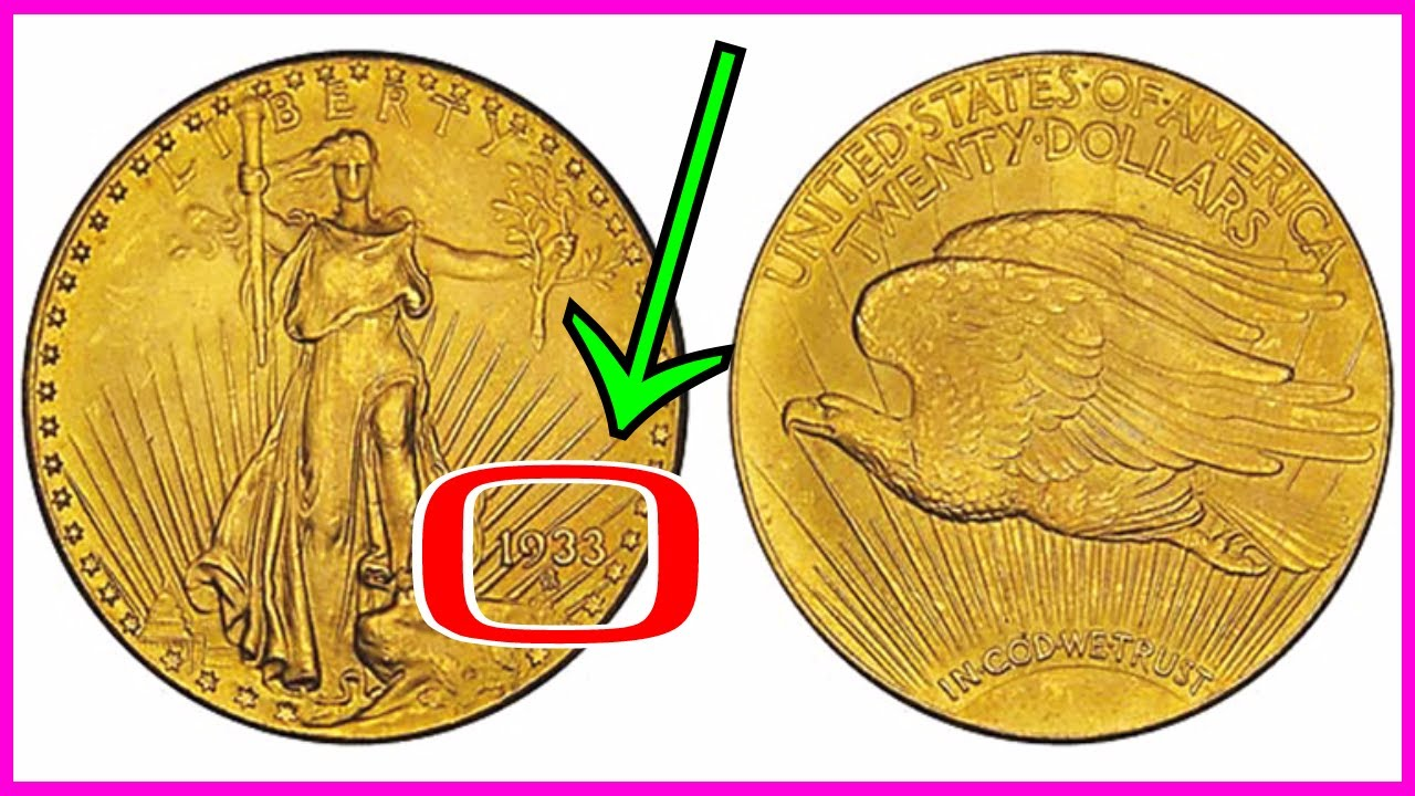 Illegal 1933 Gold Coin Sold For 7 6