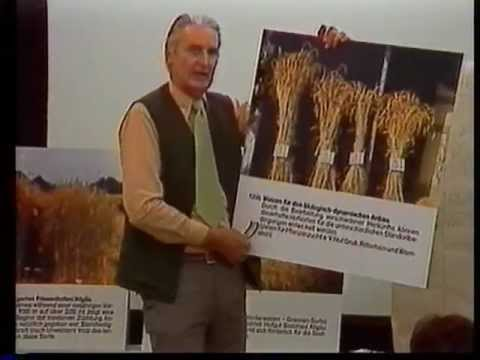 Rudolf Steiner Biologisch Dynamisch Saatgutregeneration mit Georg Wilhelm Schmidt