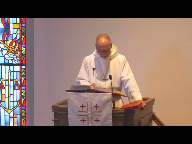 Sermon - 20210523 - Robert Menking