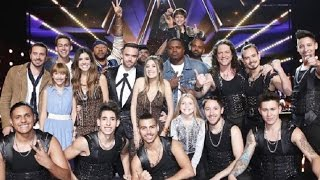 The Semifinals 5min Recap (Full) | The Results Show | America's Got Talent 2016 HD