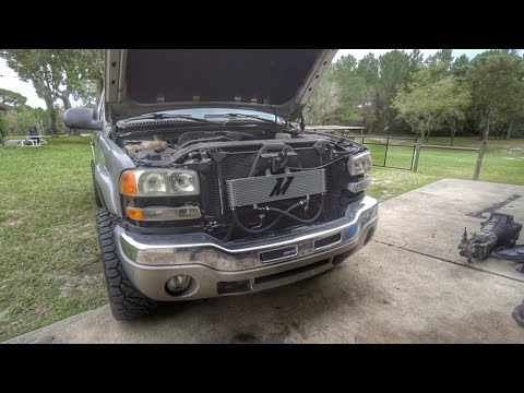Duramax Trans Cooler And House Renovations