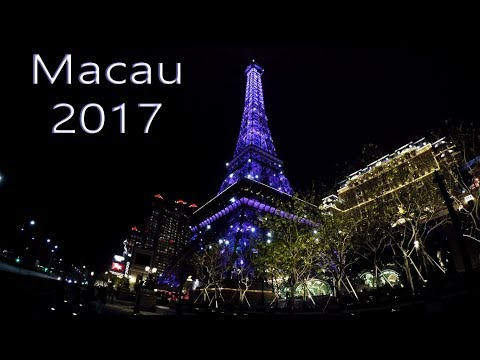 Macau 2017 with GoPro Hero 5  4K