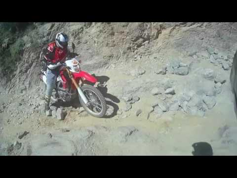 Box Canyon Florence Arizona:DRZ400SM / CRF250L Dual sport, enduro trail ride: