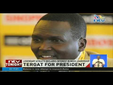 Paul Tergat for President; legendary athlete declares interest