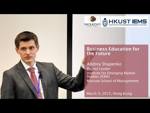 Andrey Shapenko: Global Trends of Business Education Industry