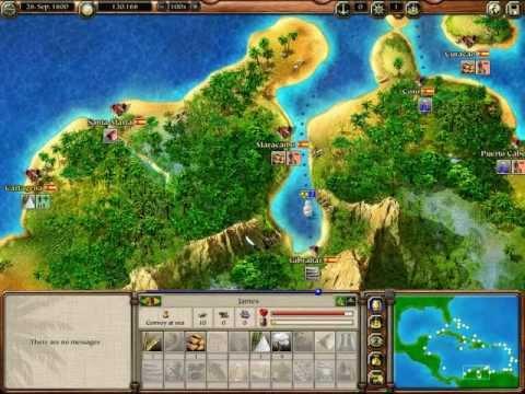 Let's Play Port Royale 2 - S2P3 - (James Goes On Autopilot) |