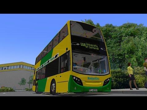 OMSI 2 Cotterell Route U18 ADL Enviro400 Badgerline (Download)