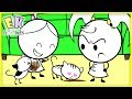 BAD CATS ATE OUR FOOD! - EK Doodles Cute Funny Animation