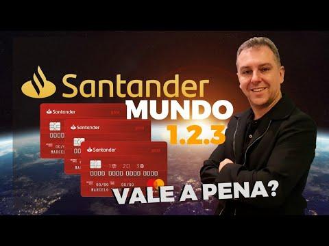 afaddf3108 CARTÃO DE CRÉDITO SANTANDER MUNDO 1.2.3