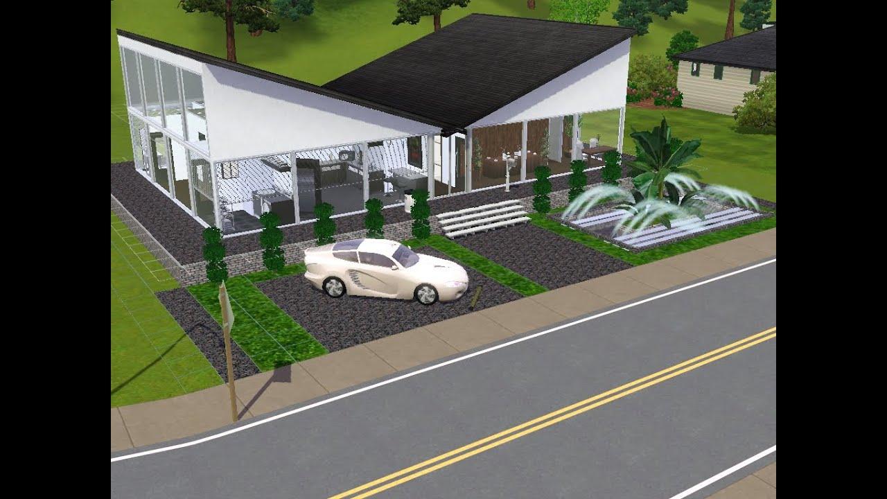 Sims 3 haus bauen lets build kleines haus für einen singel mann das glashaus