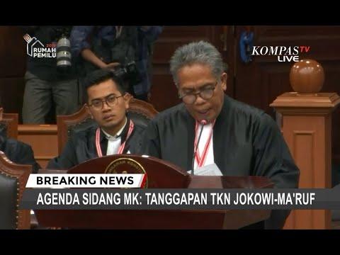 Image of Ini Jawaban Tim Jokowi-Ma'ruf Soal Sumbangan Dana Kampanye yang Dipersoalkan di MK
