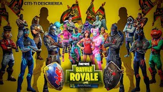 Fortnite Romania | Will all the skins be on the shop!!?