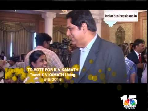 Indian Business Icons 2015: K V Kamath, Chairman, ICICI Bank