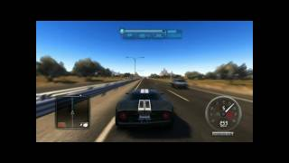 Test Drive Unlimited 2 Beta Gameplay Cars