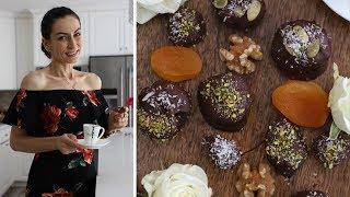 Красивый и Уникальный Десерт - Шоколадные Сухофрукты С Орехами - Рецепт от Эгине - Heghineh