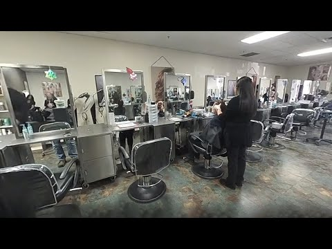 360 Tour of Everett Community College's Cosmetology Program