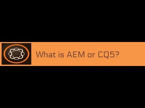 1. What is AEM