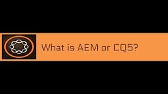 AEM tutorial