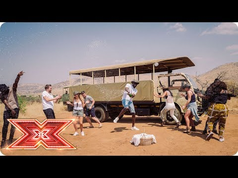 Preview: Scherzy and Stormzy take The Overs on safari | Judges' Houses | The X Factor 2017