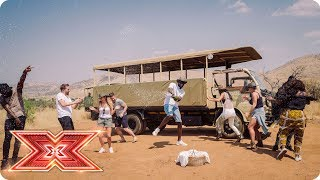 Preview  Scherzy and Stormzy take The Overs on safari | Judges' Houses | The X Factor 2017