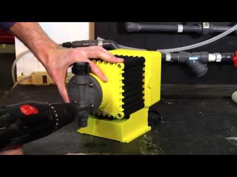 How To Properly Install A Diaphragm On An LMI Pump Video