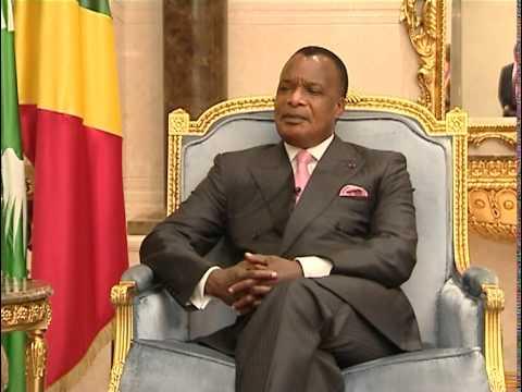 Entretien avec Monsieur D. Sassou Nguesso, President de la Republique du Congo (Agence RIA Novosti)