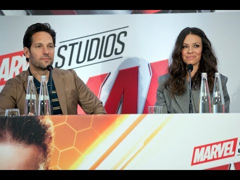 AntMan and The Wasp: Paul Rudd ed Evangeline Lilly a Roma, conferenza stampa INTEGRALE