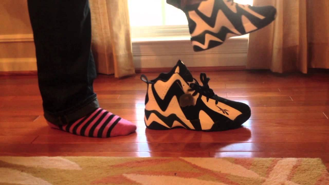 Reebok Kamikaze 2 On Feet