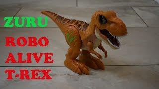 Robo Alive Attacking Robotic T Rex From Zuru