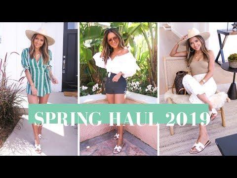 Spring Fashion Haul March 2019   Zara, Revolve, Aritzia and MORE!!