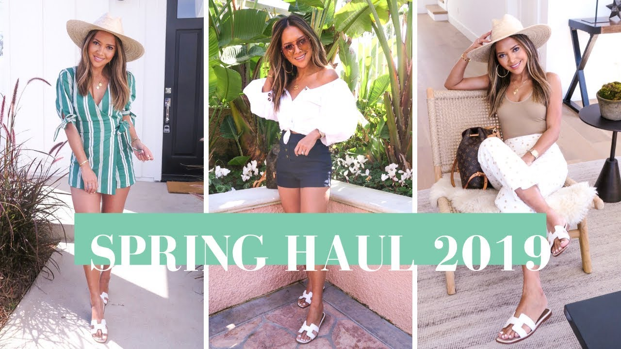 Spring Fashion Haul March 2019 | Zara, Revolve, Aritzia and MORE!! 3