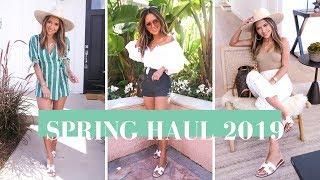 Spring Fashion Haul March 2019 | Zara, Revolve, Aritzia and MORE!!