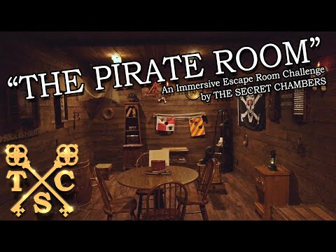 The Pirate Room - Escape Room Challenge Trailer