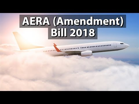 Airports Economic Regulatory Authority Of India (Amendment) Bill, 2018 - Current Affairs 2018