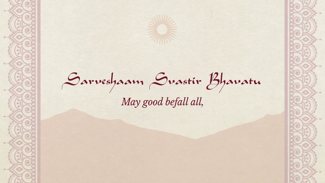 Ravi Shankar's Chants of India - 'Sarve Shaam' (Lyric Video)