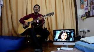 Na jaane mere dil ko kya@guitar(movie-DDLJ)(Actor-Shahrukh/Kajol)(Romantic Bollywood)