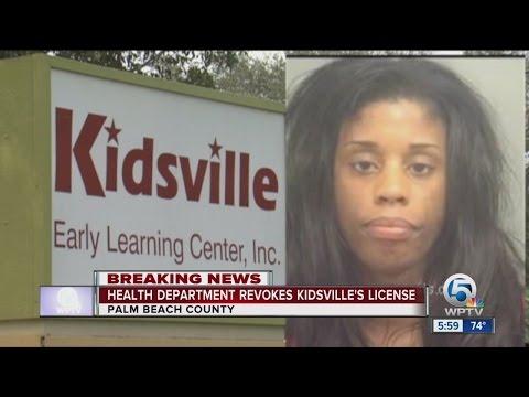 Health department revokes Kidsville's license