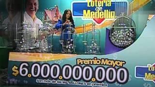 Sorteo de la Lotería de Medellín número 4245 - 21/11/2014