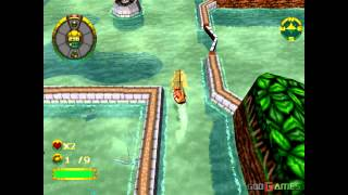 Overboard - Gameplay PSX (PS One) HD 720P (Playstation classics)