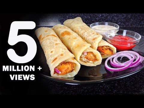 Chicken Paratha Roll Recipe – Ramadan Recipes by (HUMA IN THE KITCHEN)