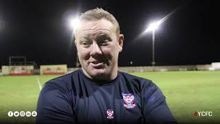 Steve Watson Post-Match | Kettering Town 0-0 York City