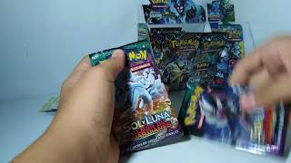Opening 2 and 2 pokemon card guardians raising and ultra prism